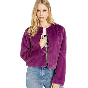 Juicy Couture Faux Fur Jacket - Small NWT